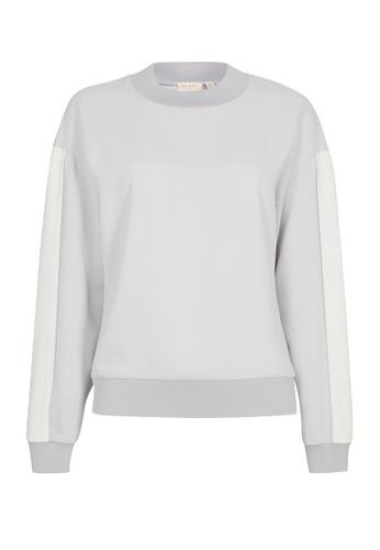 TED BAKER white Ted Baker KEELEE Panelled sweatshirt 54672AADEDBE0EGS_1