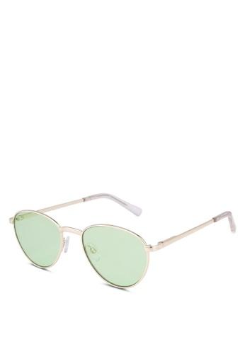 Le Specs 金色 Hot Stuff Ltd Edt Sunglasses BA745GL0D41027GS_1