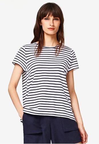 ESPRIT white Short Sleeve T-Shirt B3279AA327C3ACGS_1