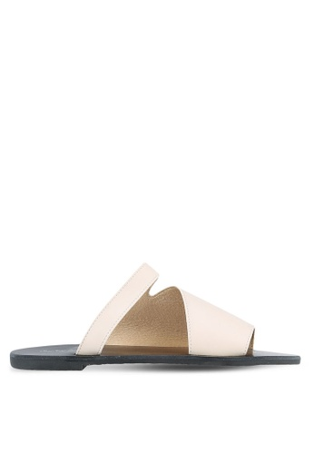 Something Borrowed pink Cut Out Sliders C0A50SH8709CBAGS_1