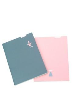 Paperways Mini City Notebook Set - Osaka