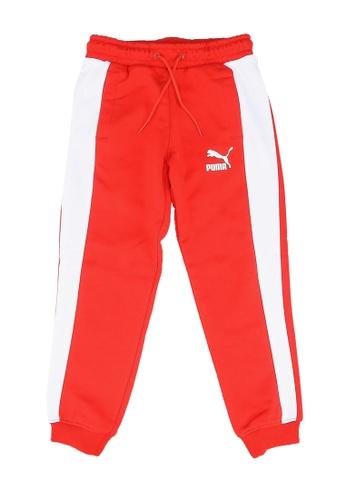 PUMA red Iconic T7 Track Pants 669CBKAF4BB076GS_1