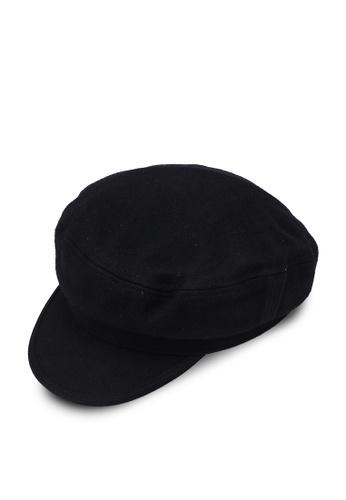 Vero Moda black Saturn Baker Boy Hat 0B082AC8BCC51FGS_1