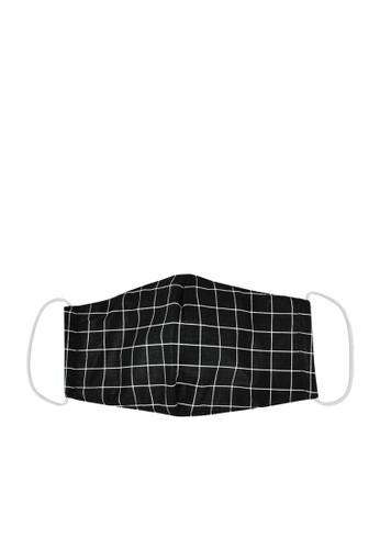 MAYONETTE black MAYONETTE Masker Duckbill Rectangle - Masker Non Medis 3 PLY - Dewasa Earloop - 3 Pcs - Black C538CESF404E3CGS_1