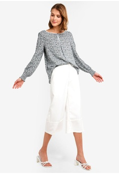 0c9fac428afe4 Max Studio Woven Smock Sleeve Blouse RM 149.00. Sizes XS S M L XL