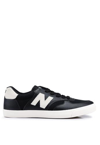 New Balance black 300 Lifestyle Shoes 47E5DSH7E424F7GS_1