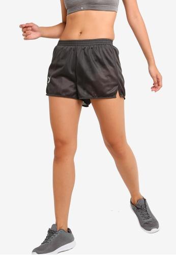 FBT grey Running Shorts Straight Cut BEA31AA2339D94GS_1