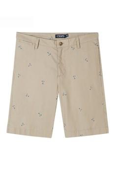 Chaps  Chaps Martini Printed Cotton Shorts