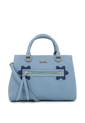Carlo Rino blue Carlo Rino Top-handle bag (Medium Blue) C127CAC9F6D943GS_1