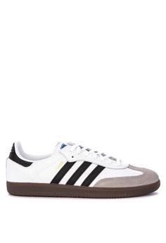 d6c08733e05e5 adidas white adidas originals samba og sneakers 66565SH119F426GS 1
