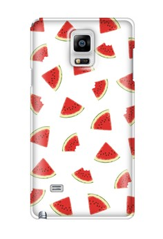Watermelon Slice Glossy Hard Case for Samsung Galaxy Note 4