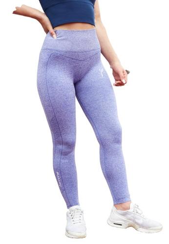 Famme Sportswear blue Famme Sportswear Blue Iris Seamless Techna Tights A6DB4AAC5C0D45GS_1