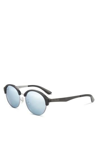 Ray-Ban black Highstreet Sunglasses RA896GL78GSBMY_1