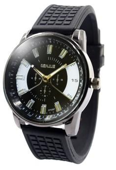Senjue Jolo Rubber Strap Watch 6755B1