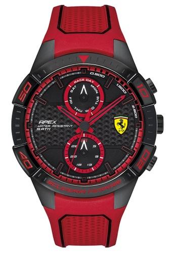 Scuderia Ferrari red Scuderia Ferrari Apex Red Men's Watch (0830639) 870F7AC4F8B7CBGS_1