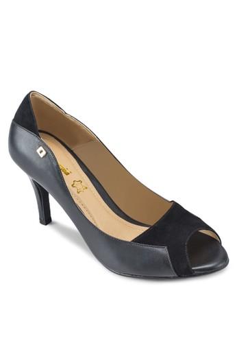 ABIGAIL esprit outlet 高雄露趾尖頭高跟鞋, 女鞋, 鞋