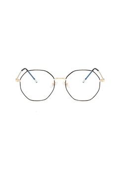 494a5d95dec5 Kyfer's Eyewear & Essentials gold HEX METAL GLASSES 5FF4EGL1D3CD1AGS_1