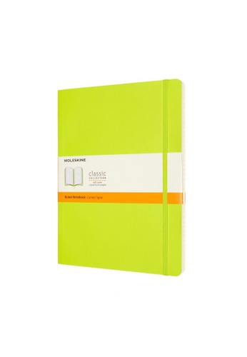Moleskine green Classic Notebooks Ruled Soft Green Xl BD52BHL52F19E3GS_1