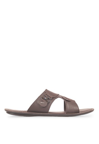 JAVA SEVEN brown JAVA SEVEN Shoes Heraldi Brown Men's Sandal & Flip Flops Genuine Leather JA154SH42ILLID_1