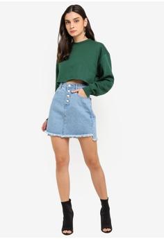 7fd48abc6 30% OFF MISSGUIDED Step Hem Denim Mini Skirt RM 119.00 NOW RM 82.90 Sizes 6  8 10 12 14