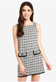 Dorothy Perkins multi Petite Boucle Shift Dress 1D76DAA6323C7EGS 1 64dd54075