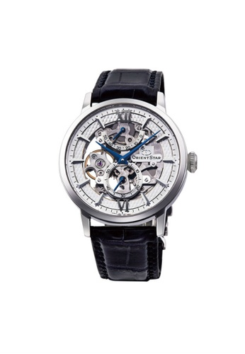 Orient silver Orient Star Skeleton Men Mechanical ORRE-DX0001S FF7F7AC63276FBGS_1