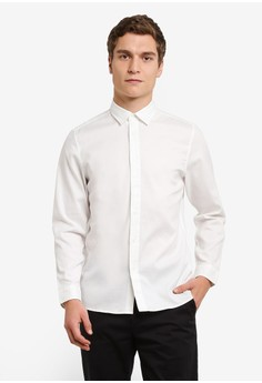 Calvin Klein-Garment Dyed 襯衫