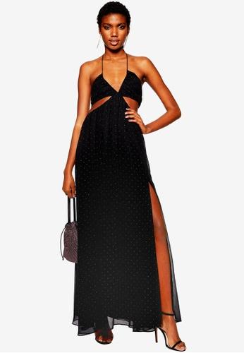 438a810a5d Buy TOPSHOP Rainbow Studded Maxi Dress Online on ZALORA Singapore