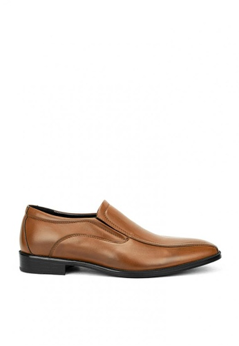 Cardam's Lifestyle brown CMS 42889 Brown Formal Shoes 570A4SHBA38204GS_1