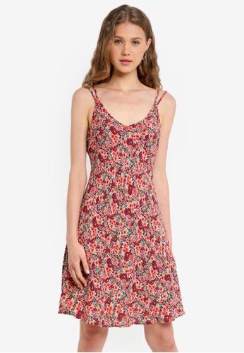 Jack Wills pink Marplethorn Flirty Cami Dress BE873AA157F88BGS_1