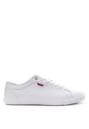 Levi's white Woods Sneakers LE892SH18PTDPH_1