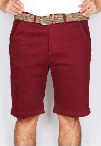 Moley red Men Brushed Cotton Twill Bermudas 12095AA2F8507DGS_1