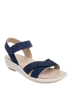 aded71261affc 50% OFF Hush Puppies Hush Puppies Women's Lyricale Qtr Strap - Navy RM  319.80 NOW RM 159.90 Sizes 6 7 8 9