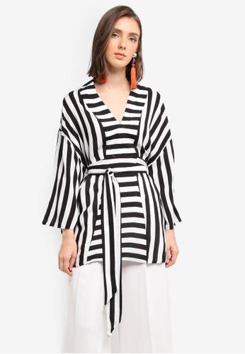 Y.A.S white Savanna Kimono Top 26C92AA6CD39EBGS_1. CLICK TO ZOOM