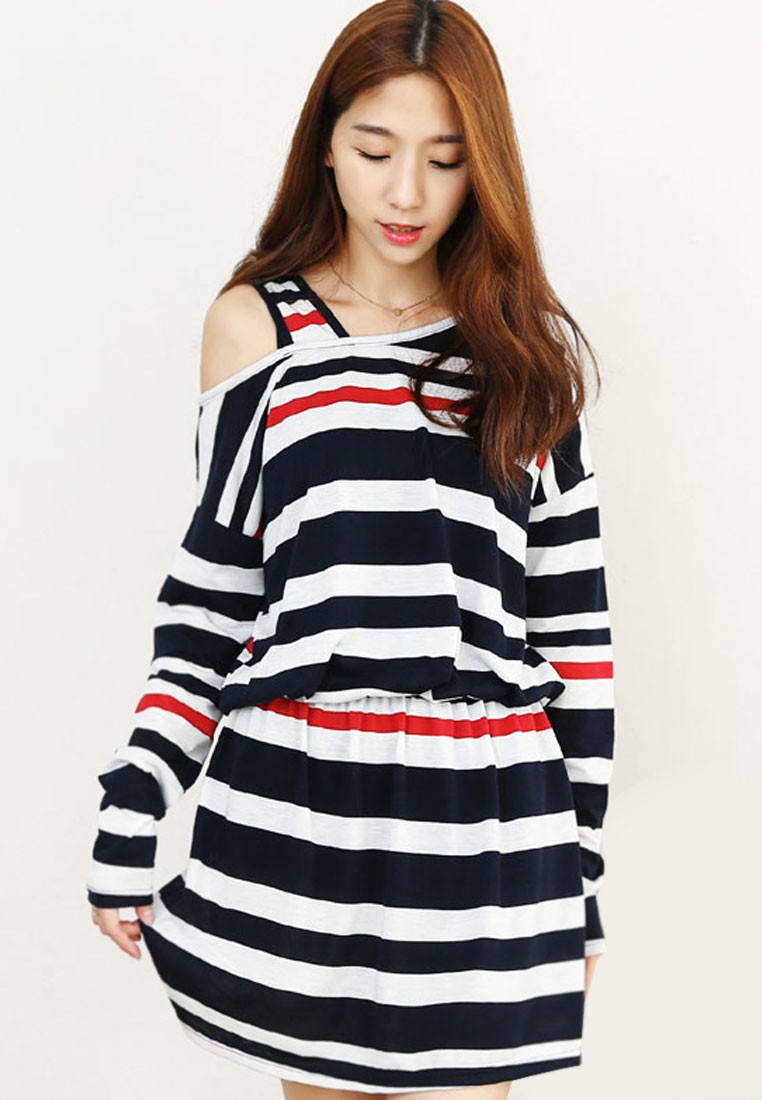 Sailor Striped Cool Dress