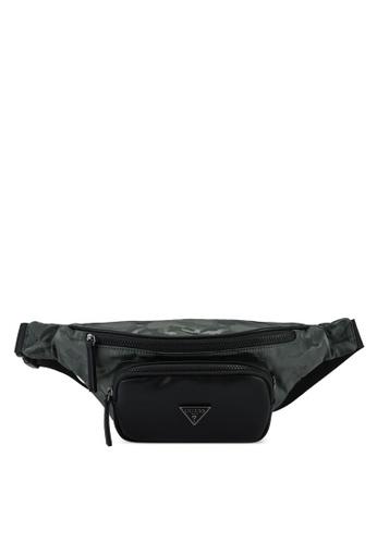 Guess green Dyson Bum Bag 2E23AAC7ECB414GS_1