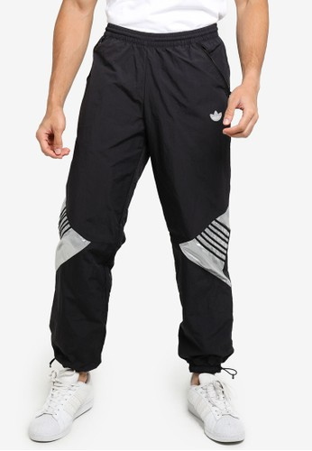 ADIDAS black tolima-02 track pants B3574AAD29E47BGS_1