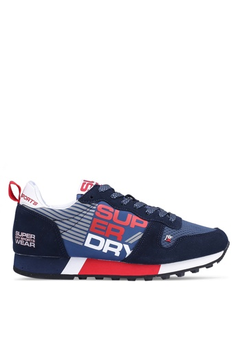 Superdry navy Streetsport Low Sneakers 2DB59SHE9A2DFCGS_1