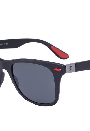 079d731137 Shop Ray-Ban Ray-Ban Scuderia Ferrari Collection RB4195M Sunglasses Online  on ZALORA Philippines