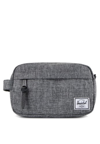Herschel grey Chapter Carry On Travel Kit 75E7BACC6354F1GS_1