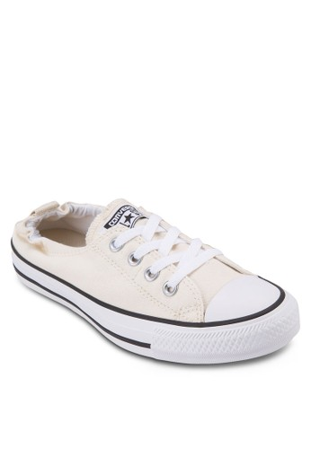 Chuck Taylor All Star Shoreline 輕便帆布鞋、 女鞋、 俏皮男孩風ConverseChuckTaylorAllStarShoreline輕便帆布鞋最新折價