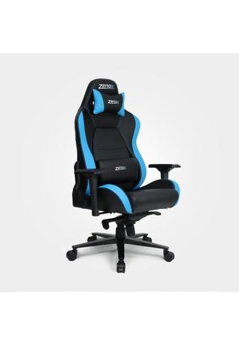 Zenox blue Jupiter Racing Chair (Sky Blue) 05AD2HLC8F41C3GS_1