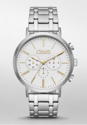 CHAPS Dunham Czalora 衣服尺寸hrono三眼計時腕錶 CHP7022, 錶類, 紳士錶