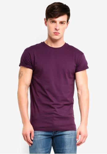 Topman 紫色 短袖T恤 D70C7AA5AFA972GS_1