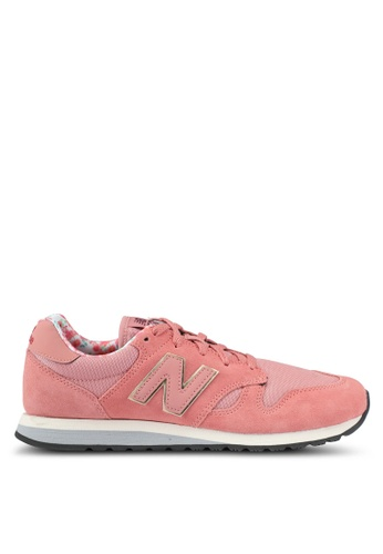New Balance pink 520 Floral Pack Lifestyle Sneakers NE323SH0SXNPMY_1