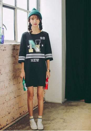 圖文T esprit 香港 outlet恤連身裙, 服飾, 洋裝