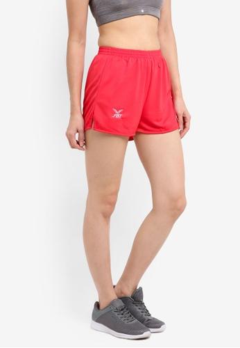FBT red Running Shorts Straight Cut 2376EAA11F3AD5GS_1