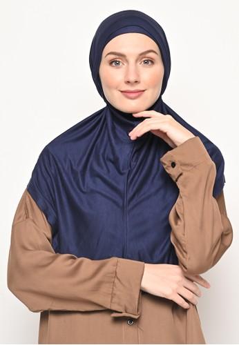 My Daily Hijab navy Bergo Elvira Hijab Instant Navy 9845FAA2D9A9B7GS_1