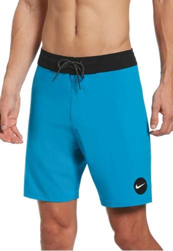 """Nike blue Nike Swim Men's Essential Vital 7"""" Boardshort E9964US50050E4GS_1"""