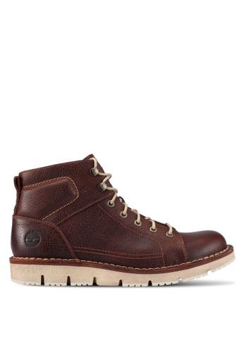 Timberland brown Westmore Lace To Toe Chukkas TI063SH0SJ83MY_1
